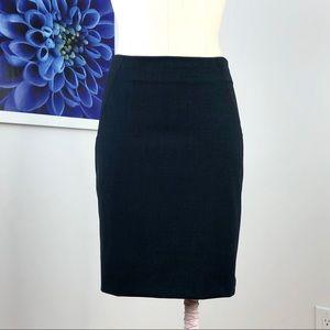 Theory Blue Golda Pencil Skirt